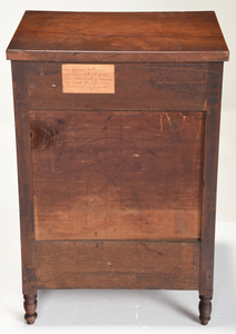Fine American Federal Miniature Tall Chest
