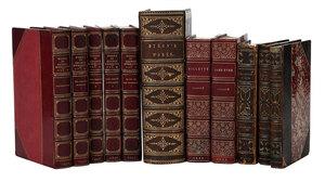 56 Fine Leather Bound Literature Books