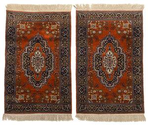 Pair of Kashmir Rugs