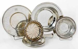 11 Sterling Table Items