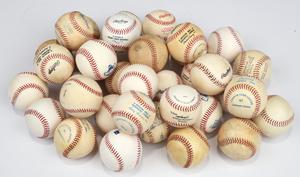 36 Unsigned Baseballs