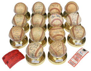 14 Signed Richmond Baseballs