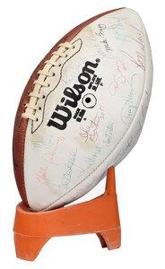 1979 Washington Redskins Signed Football