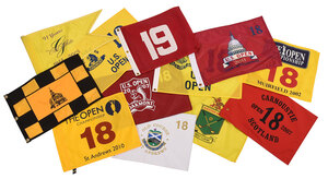 Assorted Golf Pin Flags