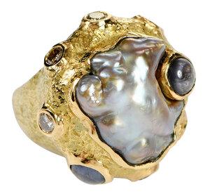 Katy Briscoe 18kt. Gemstone Ring