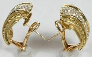 Orlanda Olsen 14kt. Diamond Earrings