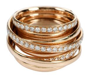 de Grisogono 18kt. Allegra Diamond Ring