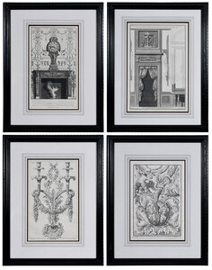 Four Italian Architectural Engravings
