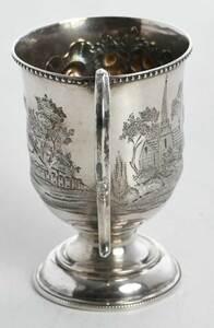Philadelphia Presentation Coin Silver Mug