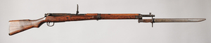 Japanese WWII Type 99 Bolt Action Rifle with Bayonet