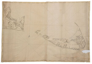 Des Barres - Chart of Nantucket Island, 1776
