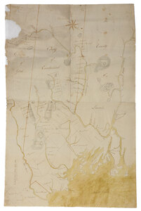 Manuscript Map of Maine