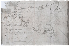 Pinkham - A Chart of Nantucket Shoals, 1791