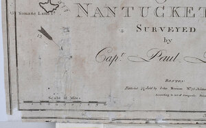Pinkham - A Chart of Nantucket Shoals, 1791