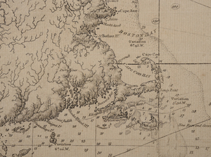 Des Barres - Map of Nova Scotia, 1780
