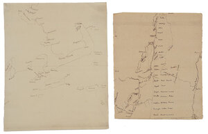 Two Miscellaneous Manuscript Maps