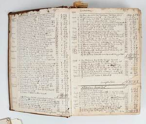 Nicholas Sever Family Account Book and Index