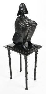Modern Bronze Sculpture, Kage