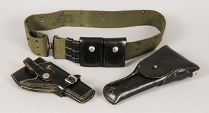 Two Military Holsters/Belt