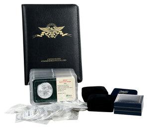53 American Silver Eagles