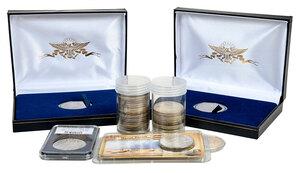 33 Silver U.S. Dollars