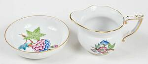 Herend Queen Victoria Chocolate Service for Two