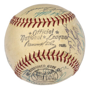 1961 Pittsburgh Pirates Signed Baseball