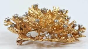 18kt. Diamond Brooch