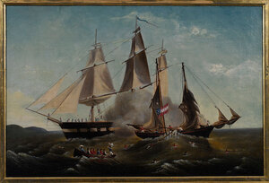 Charleston Civil War Naval Battle