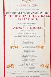 Three Opera Related Items