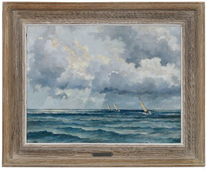Eric Sloan boat and clouds