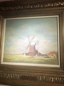 Hugh Boycott Brown windmill scene