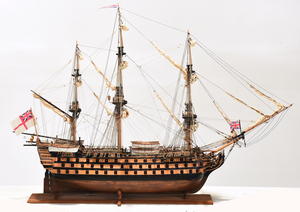 Ship Model of the HMS Victory