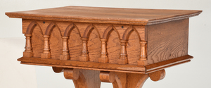 Gothic Style Carved Oak Lectern