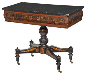 Baltimore Classical Paint Decorated Center Table