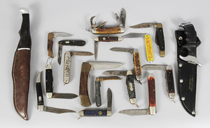 18 Assorted Knives