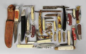 27 Assorted Knives
