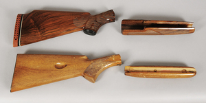 Two Winchester Wood Stock and Forearms