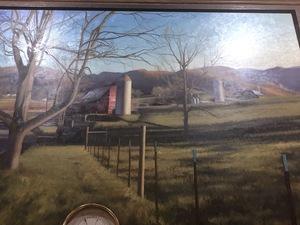 Luke Allsbrook pasture and barn