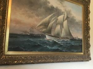 Robert Sanders, sailing ship