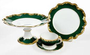 35 Piece Coalport Porcelain Dessert Service