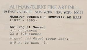 Mauritz Frederik Hendrick De Haas