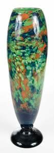 Monumental Charles Schneider Art Glass Vase