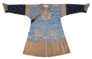 Chinese Silk Dragon Robe