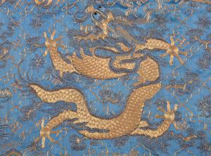 Chinese Silk Dragon Robe