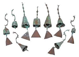 Paolo Soleri, Group of Nine Bronze Bells