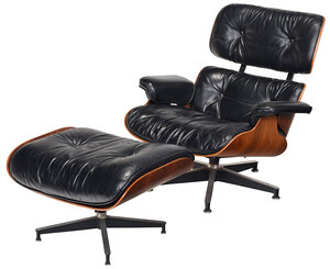 Eames Herman Miller Rosewood Chair and Ottoman