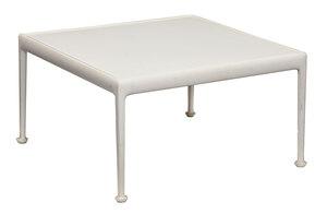 Richard Schultz Knoll White Enameled Low Table