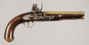 W. Ketland & Co. Brass Barrel Flintlock Pistol