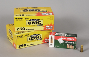 Remington/Lellier & Bellot 9mm Luger Ammunition